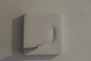 Cucharas en moldes de yeso